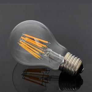Dimmbare Led E27 : e27 dimmbare led filament gl hbirne kugel birne faden lampe 8 16w warm kaltwei ~ Markanthonyermac.com Haus und Dekorationen