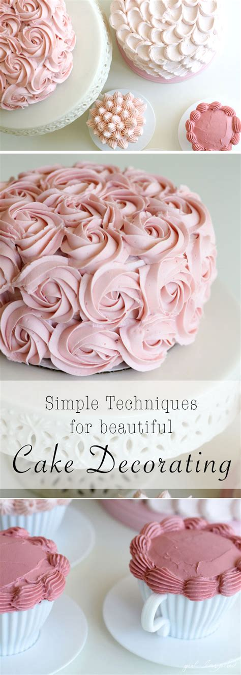 simple and stunning cake decorating techniques inspired