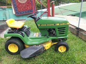 deere stx38 stx 38 yellow deck lawn mower drive belt idler pulley w guide on popscreen