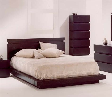 Bloombety  Cool Bed Frames With Wood Headboard Choosing