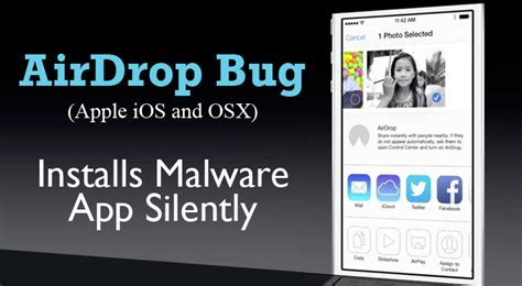 Airdrop Bug In Apple Ios And Osx Allows Hackers To Install Malware Silently Iphone Se 64gb Year Harga Dan Spesifikasi 6 Lifeproof Vs Catalyst At&t Battery Mah In Flipkart Yerevan Olx