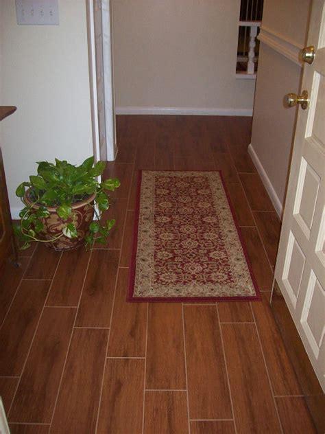 porcelain plank wood look tile installations ta