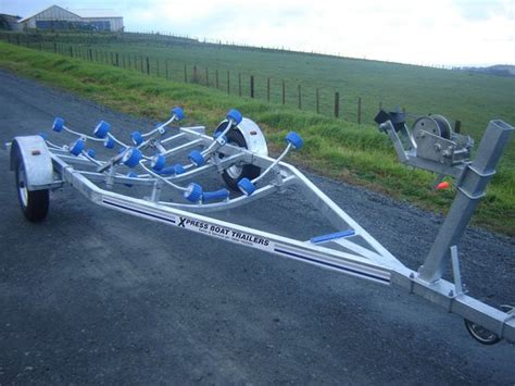 Boat Trailer Pads Or Rollers by Boat Tailers Nz Aakron Boat Trailers Boat Trailers For