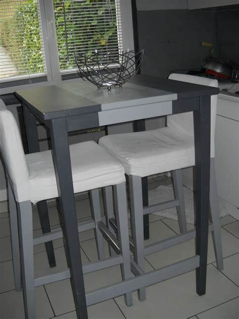 charmant table haute cuisine ikea 3 table a manger haute ikea digpres