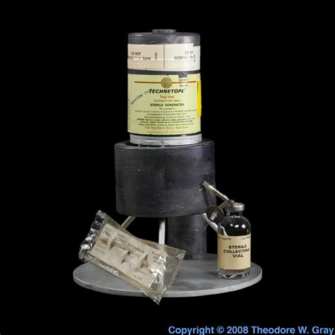 Technetium Generator, A Sample Of The Element Technetium