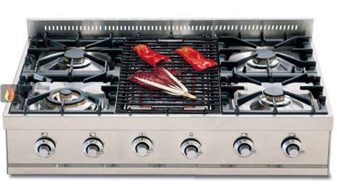 plaque de cuisson gaz 90 cm inox 224 poser 5 foyers dont 1 wok dual 5 kw et 1 barbecue ilve ec