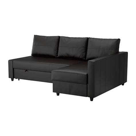 friheten sofa bed with chaise bomstad black ikea