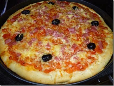 recettes de pate a pizza