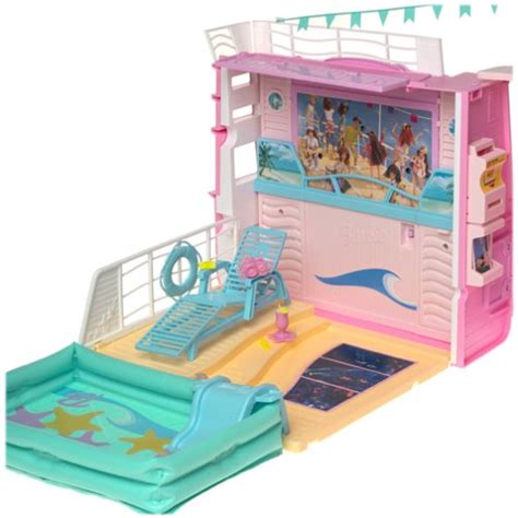 Buy Barbie Boat by 26 Unique Barbie Cruise Ship Playset Fitbudha