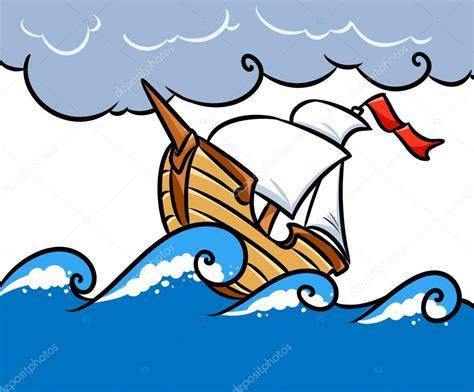 Dibujo Barco En Tormenta dibujos tormenta dibujo dibujos de animados mar barco