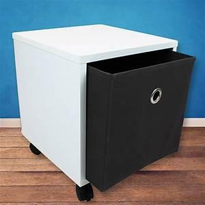 Box Mit Rollen : w rfelregal box regal rollen tisch nachttisch nachtkommode kommode aufbewahrung ebay ~ Markanthonyermac.com Haus und Dekorationen
