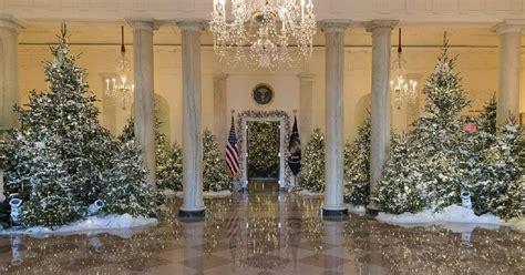 Trump White House Patriotic Christmas Display Is Maga