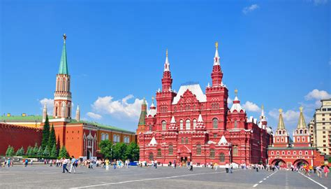 Moscow Red Square by Stand In Moscow S Red Square