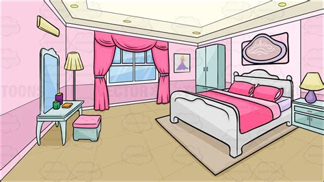clipart a bedroom of a background