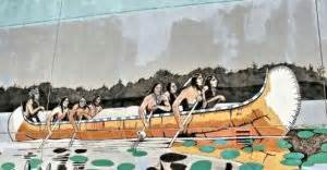 Types Of Native American Boats by The People S Paths Resource Learn About North American