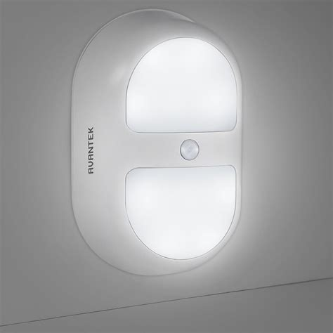 avantek veilleuse de nuit oule intelligente le 224 led murale sans fil automatique avec