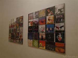 Schöne Bilder Für Die Wand : sch ne cd wand mit 2 cd wall5x5 machen aus unserem flur eine ausstellung ausstellung cd ~ Markanthonyermac.com Haus und Dekorationen