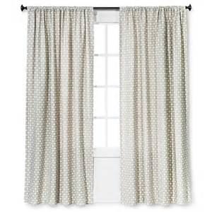 woven curtain panel nate berkus target