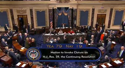 senate votes for cloture on house obamacare defunding bill set for harry to out