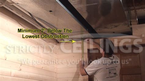 drop ceiling wall angle installation drop ceilings installation how to