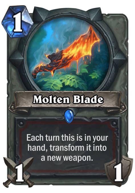 molten blade hearthstone card