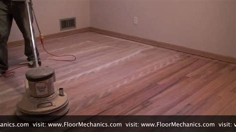 Hardwood Floor Polisher Buffer by Hardwood Floor Refinishing Buffing Between Coats Of