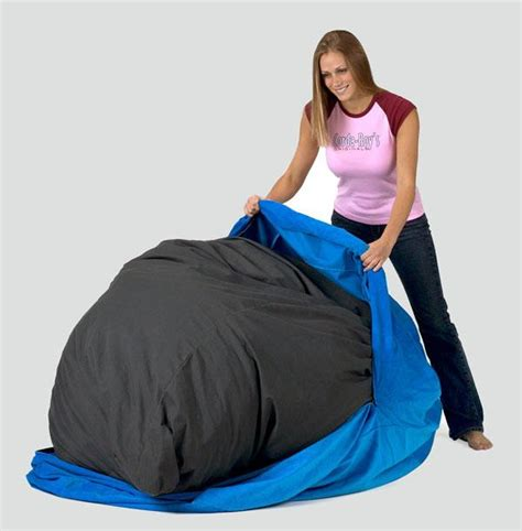 corduroy bean bag chair bed home furniture design