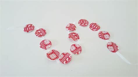 fabriquer une guirlande de no 235 l en papier