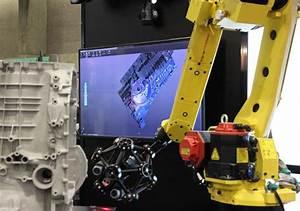 온라인 생산 검사를 지원하는 로봇 장착형 광학 CMM 3D 스캐너 | Creaform MetraSCAN ...