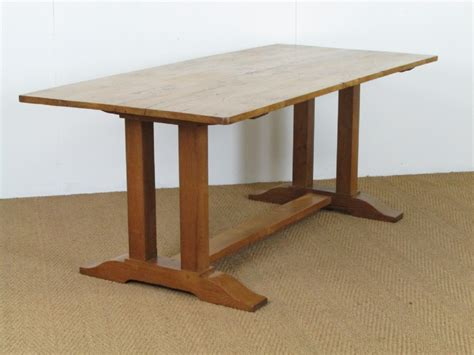Heal's Pippy Oak Refectory Dining Table  293058. Tile Top Patio Table. Kids Table And Chairs. Cool Dining Room Tables. Single Wall Oven With Warming Drawer