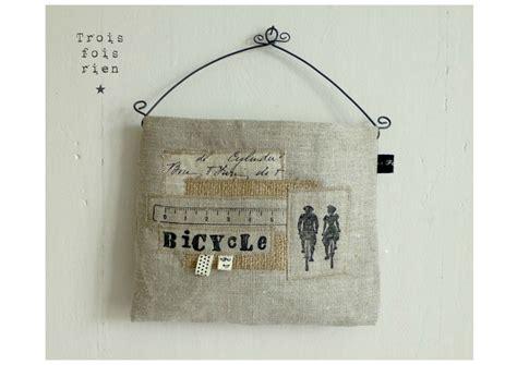 vide poche mural tissu et fil de fer 8 photo de les vide poches muraux trois fois rien la