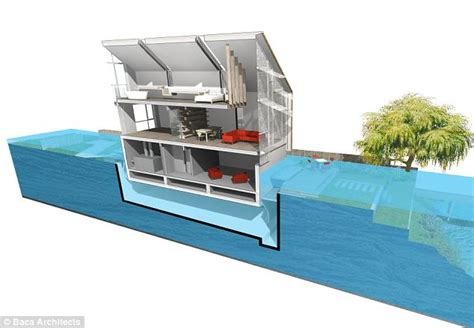 Houseboats Under 10000 by Could Hibious Homes Prove A Solution To Floods
