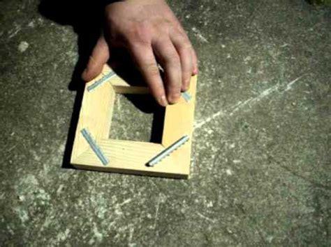 comment faire un cadre en bois