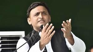 Samajwadi Party president Akhilesh Yadav.(File Photo: IANS ...