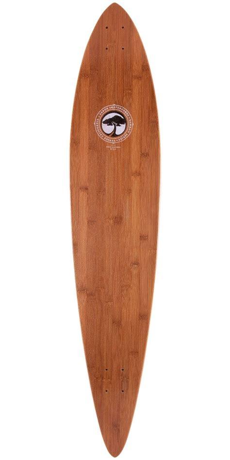 arbor bamboo timeless pintail longboard skateboard deck