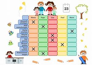 Wochenplan Haushalt Familie : nach haushaltsplan putzen ~ Markanthonyermac.com Haus und Dekorationen