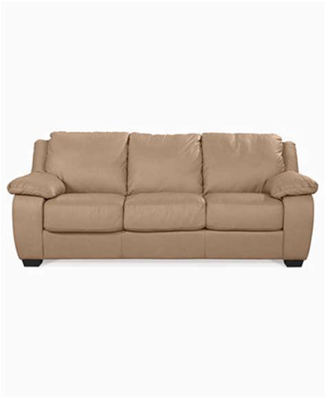 blair leather sleeper sofa bed furniture macy s