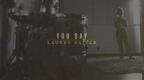 You Say (lyric Video) #trend