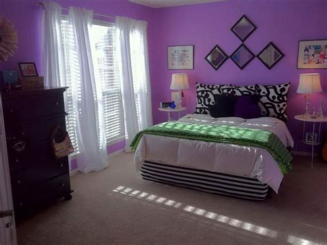 Purple Luxurious Bedroom Wall Paint Color Inspiration