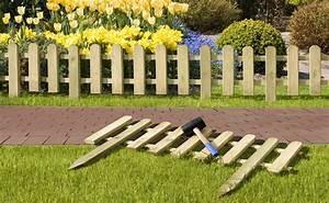Kleiner Gartenzaun Holz : gartenzaun steckzaun holz kdi 100 x 25 50 cm bei ~ Whattoseeinmadrid.com Haus und Dekorationen