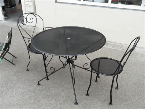 salon de jardin table ronde fer forg 233 achat salon de jardin table ronde fer forg 233