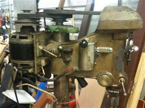 floor standing 1940s craftsman drill press