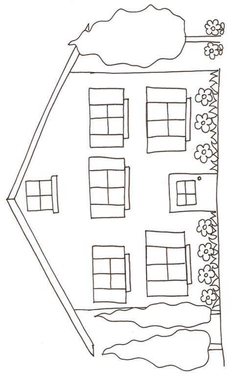 coloriage maison 195 imprimer gratuit