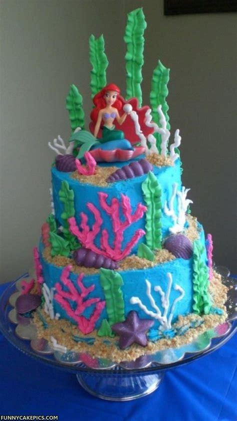 ariel birthday cake mermaid cakes decoration ideas birthday cakes