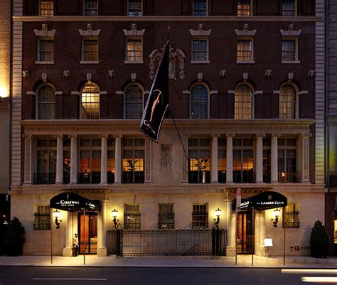 luxury deco chatwal hotel in new york pretending to be a church