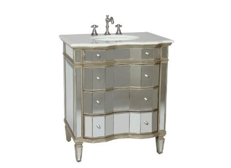 horchow mirrored vanity with sink look 4 less
