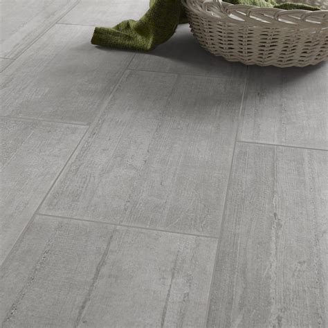 carrelage sol et mur gris clair effet b 233 ton industry l 30 x l 60 cm leroy merlin