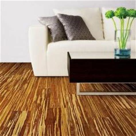 home legend smooth tiger stripe 38 x 3 34 strand woven hdf bamboo