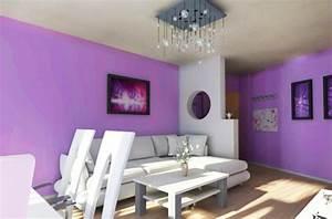 Lila Im Schlafzimmer : schlafzimmer lila wand wandfarben zimmerfarben wandgestaltung ideen zusammen mit modern designs ~ Markanthonyermac.com Haus und Dekorationen