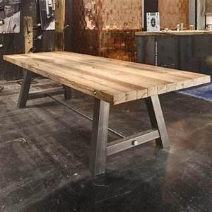 Holztisch Massiv Esszimmer : wow 300cm design esstisch eiche massiv stahl esszimmertisch esszimmer holztisch ebay ~ Markanthonyermac.com Haus und Dekorationen